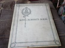 ANTIQUE HB KING ALBERT'S BOOK TRIBUTE DAILY TELEGRAPH SUPER COLOUR PLATES 1ST ED